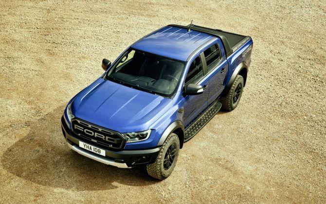 Ford Ranger Raptor - przód