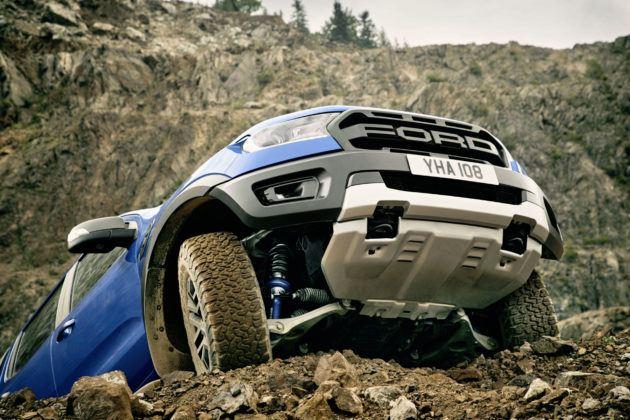 Ford Ranger Raptor - terenowe