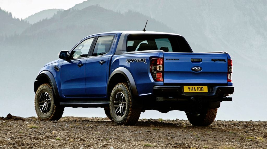 Ford Ranger Raptor - tył