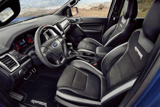 Ford Ranger Raptor - wnętrze
