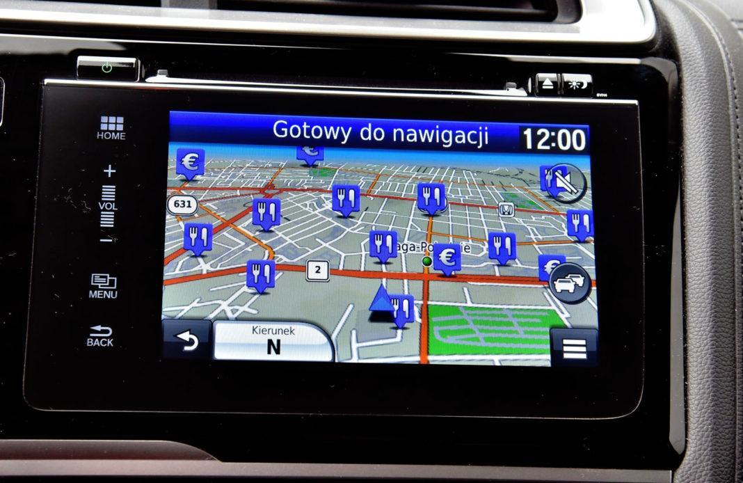 Honda Jazz - system multimedialny