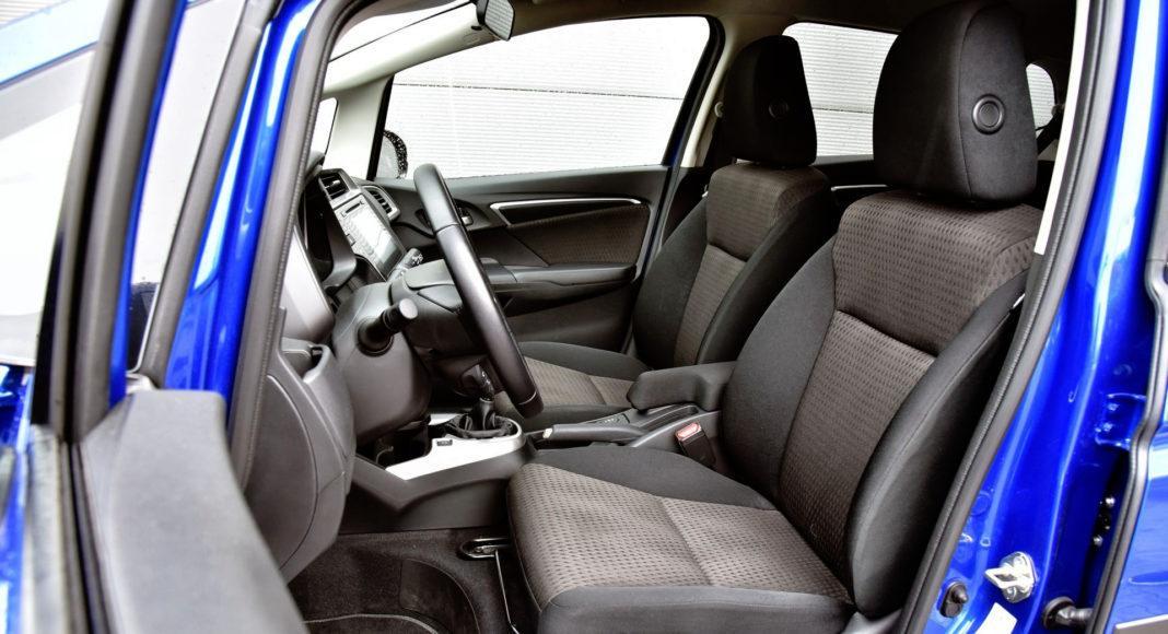 Honda Jazz - fotel kierowcy