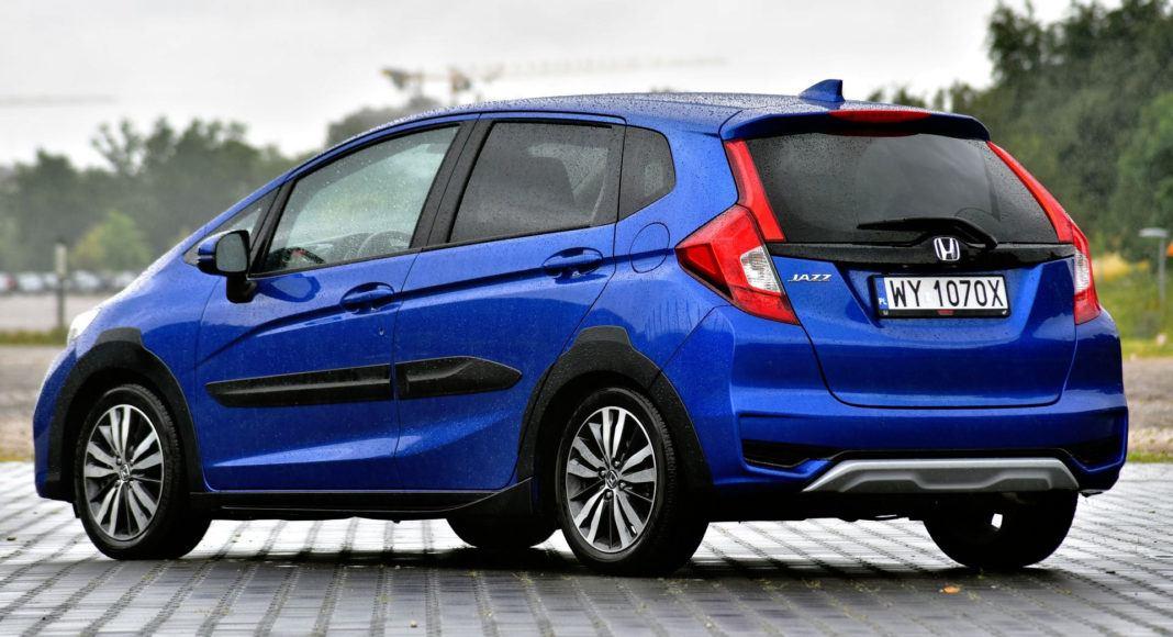 Honda Jazz - tył