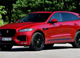 Jaguar F-Pace - dane techniczne