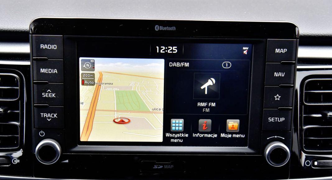 Kia Rio - system multimedialny