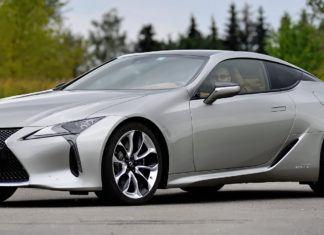 Lexus LC - dane techniczne