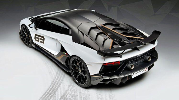 Lamborghini Aventador SVJ 63 - tył