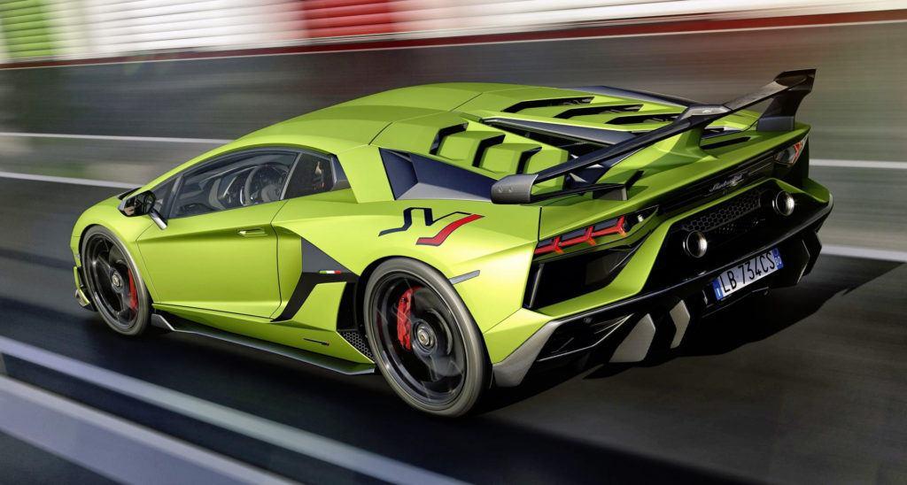 Lamborghini Aventador SVJ - dynamiczne