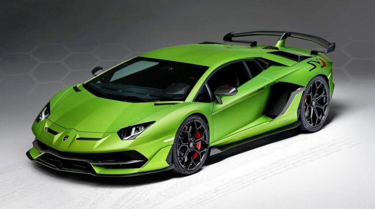 Lamborghini Aventador SVJ - przód