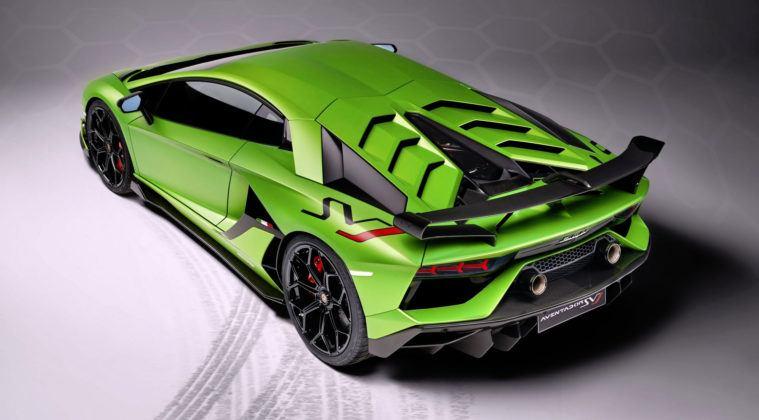 Lamborghini Aventador SVJ - tył