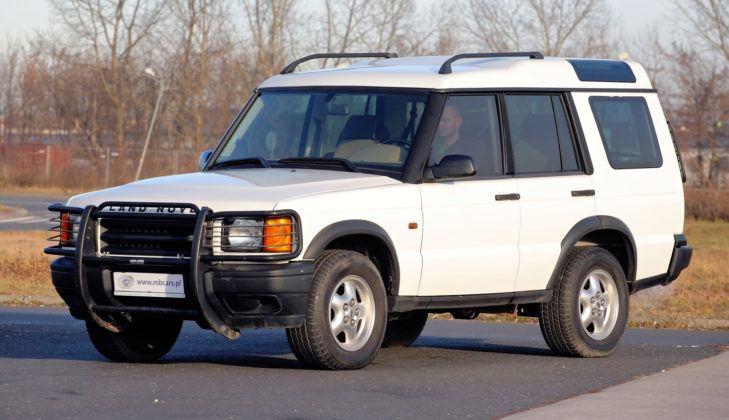 Land Rover Discovery 2 - przód