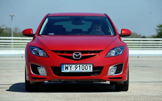 Mazda 6 II (GH) - przód