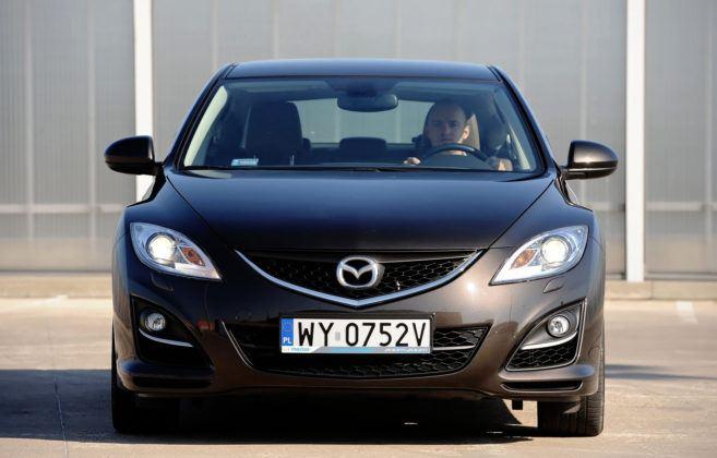 Mazda 6 II (GH) - przód FL