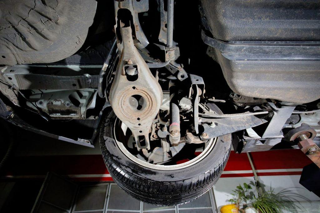 Mazda 6 II (GH) - zawieszenie