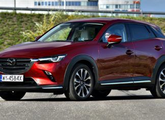 Mazda CX-3 - dane techniczne