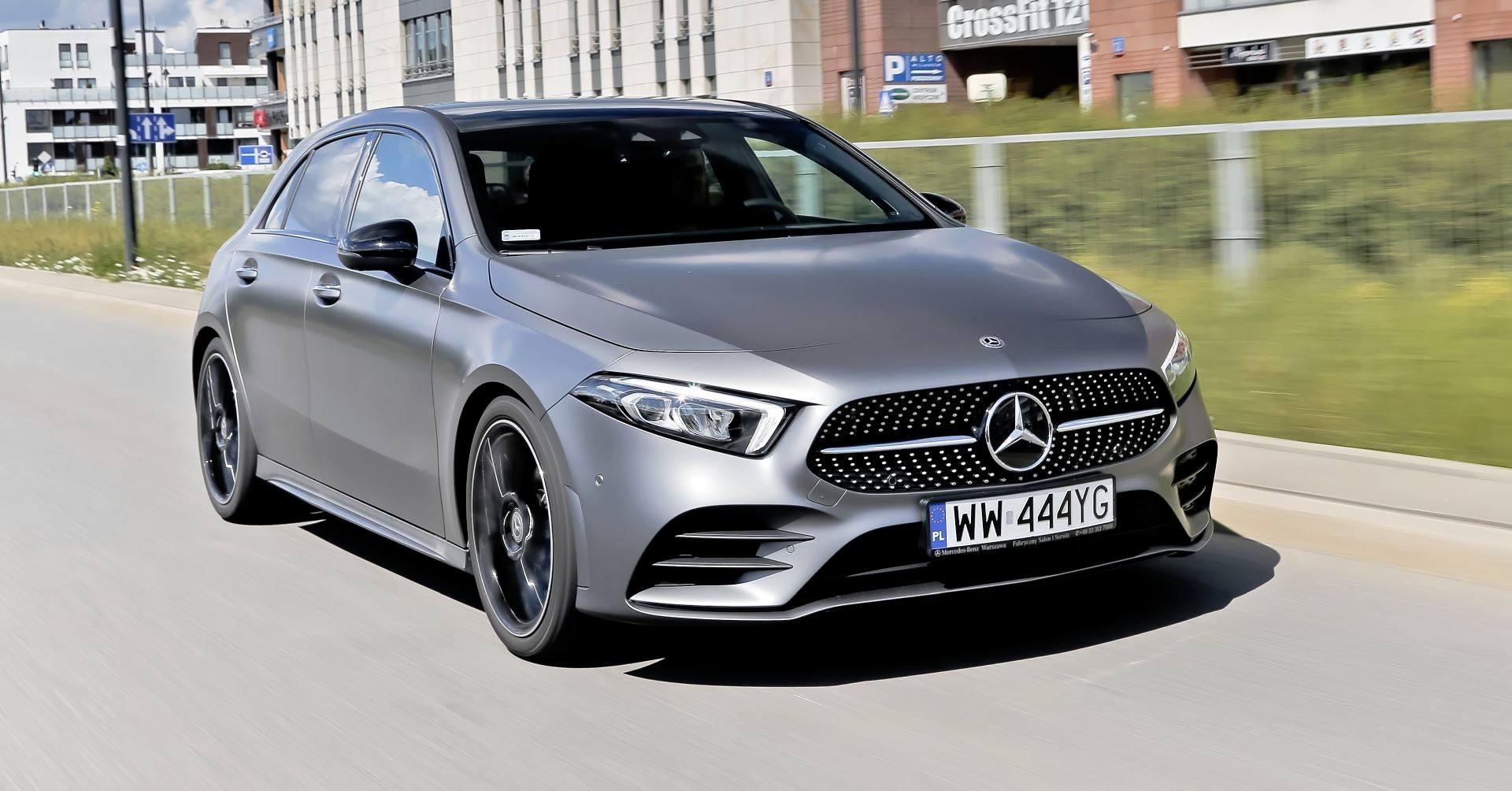 Mercedes A 200 - dynamiczne