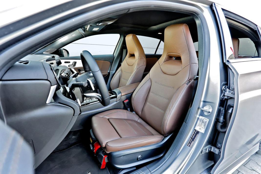 Mercedes A 200 - fotel kierowcy