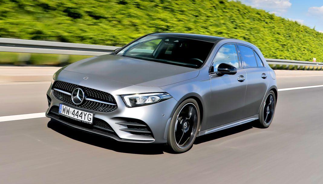 Mercedes A 200 - otwierające