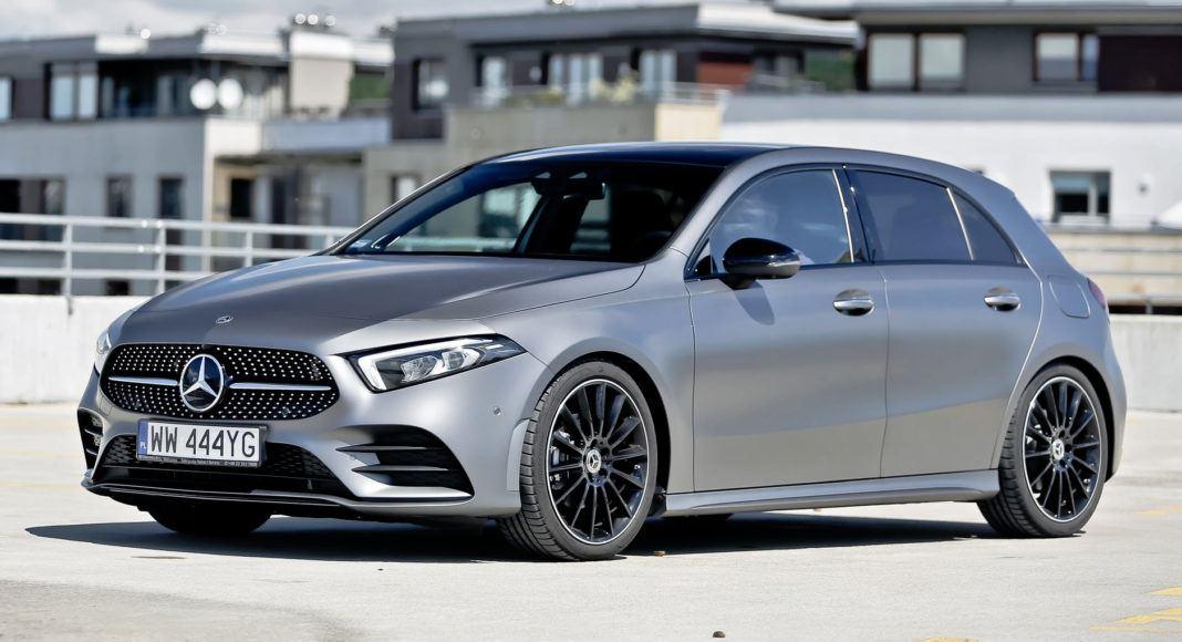 Mercedes A 200 - przód