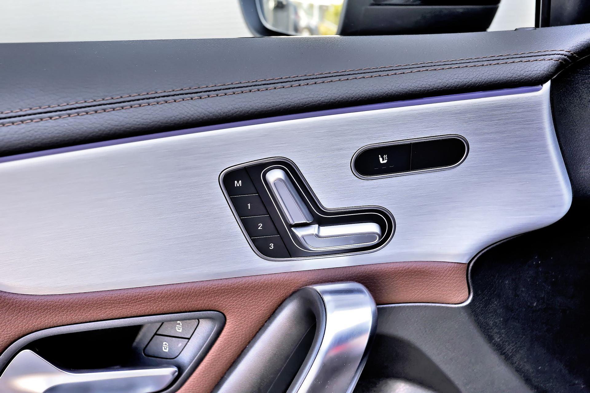 Mercedes A 200 - regulacja fotela