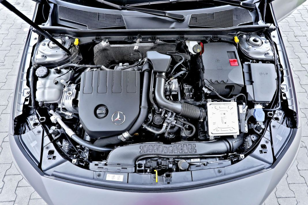 Mercedes A 200 - silnik