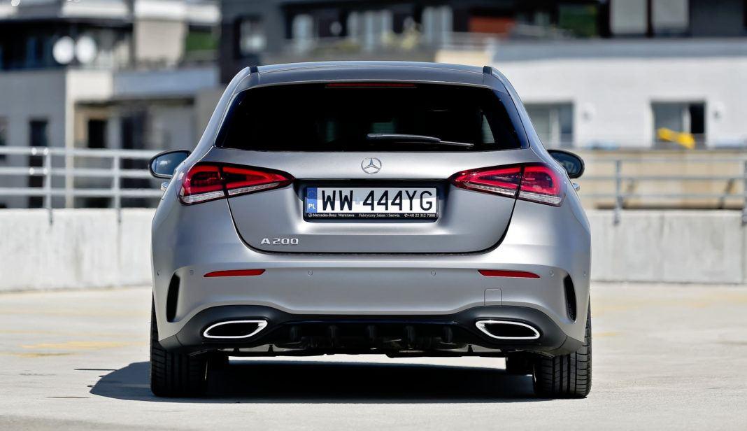 Mercedes A 200 - tył