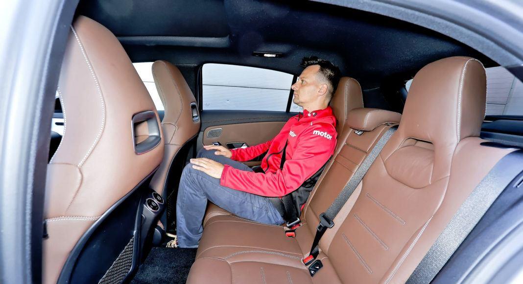 Mercedes A 200 - tylna kanapa