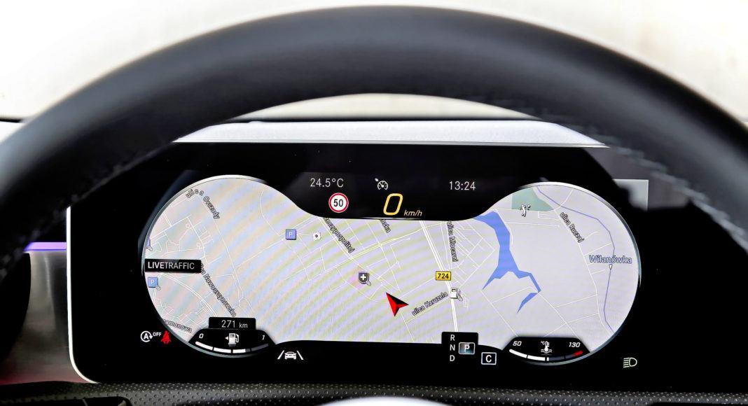 Mercedes A 200 - zegary