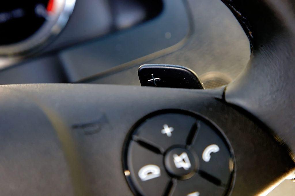 Mercedes Klasy C W204 - łopatki