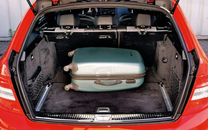 Mercedes Klasy C W204 - bagażnik kombi