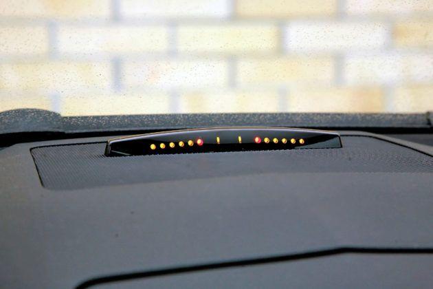 Mercedes Klasy C W204 - czujniki parkowania