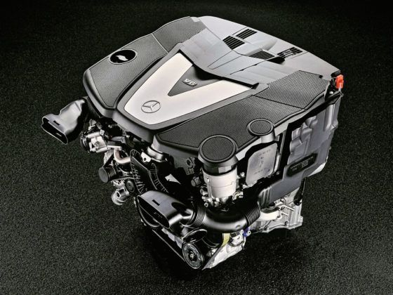 Mercedes Klasy C W204 - diesel V6 OM642