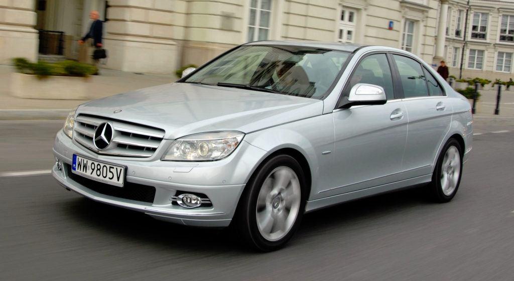 Mercedes Klasy C W204 - dynamiczne