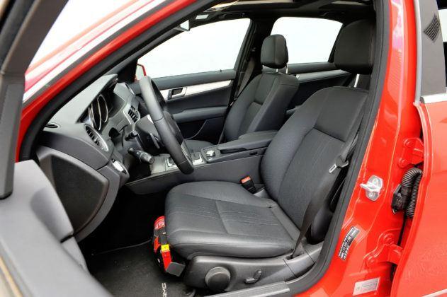 Mercedes Klasy C W204 - fotel kierowcy