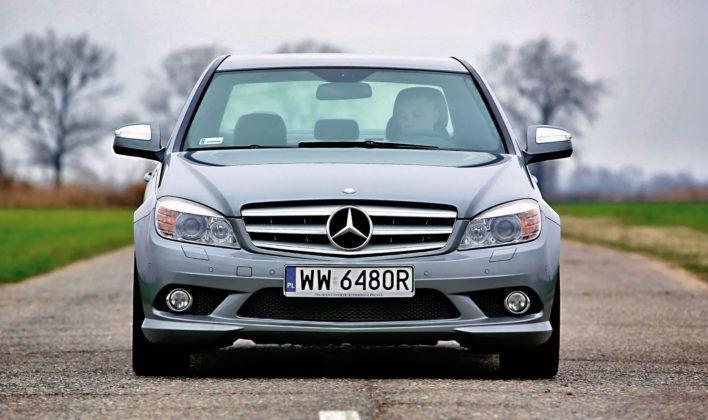 Mercedes Klasy C W204 - przedlift