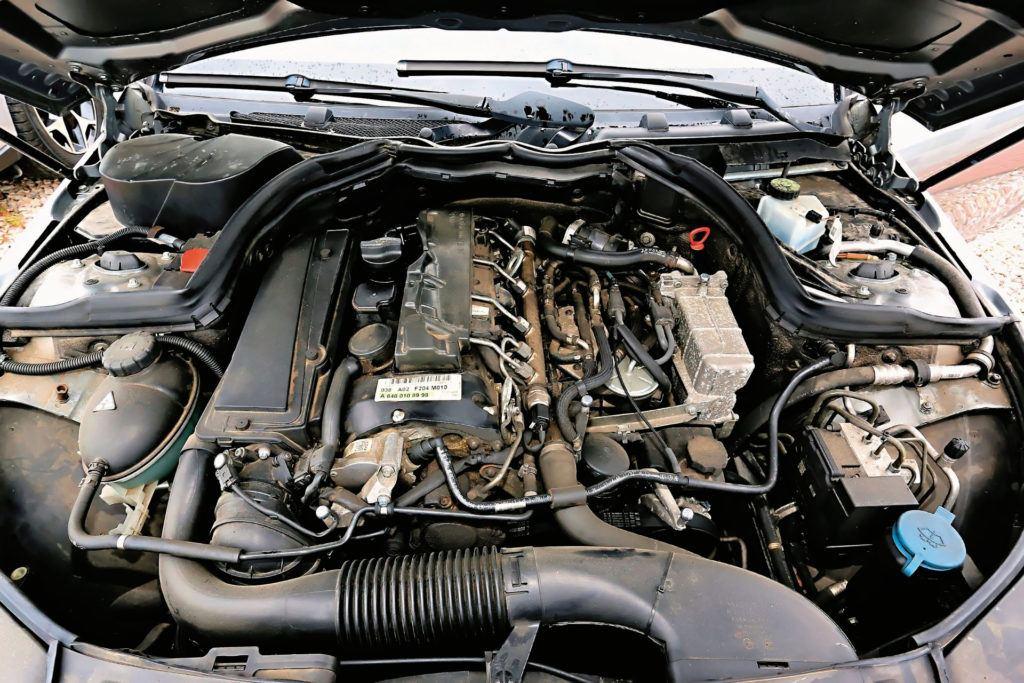 Mercedes Klasy C W204 - silnik OM651