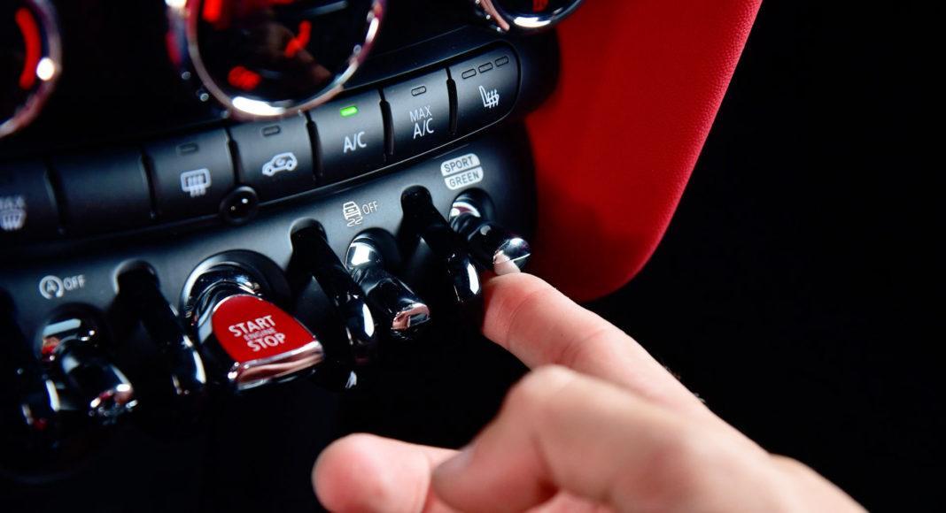 Mini John Cooper Works - przyciski (2)