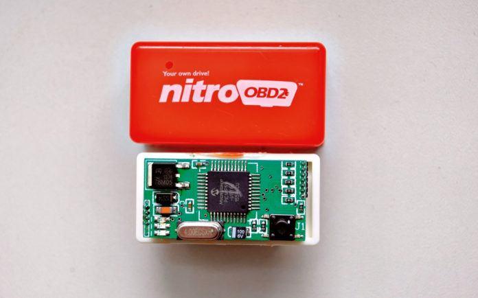 Moduł Nitro OBD2 - otwierające