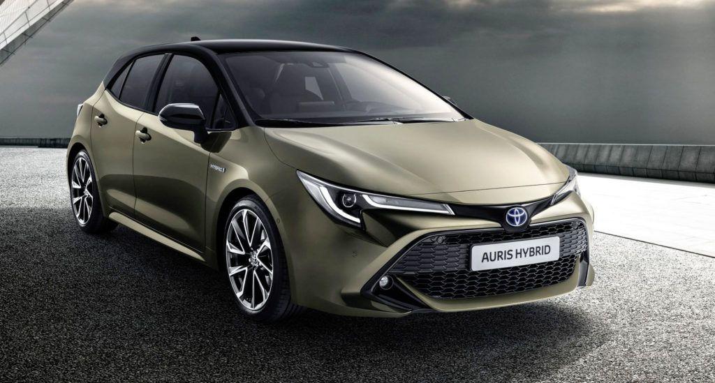 Nowa Toyota Corolla - przód