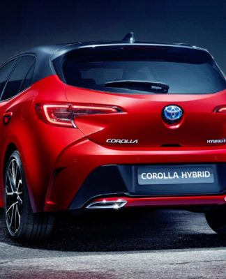 Nowa Toyota Corolla - tył