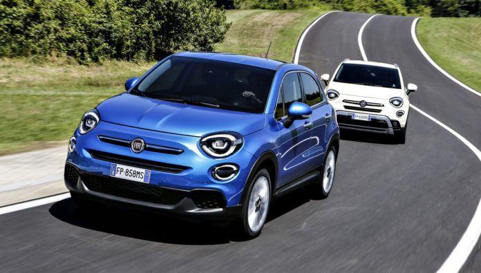 Nowy Fiat 500X - otwierające