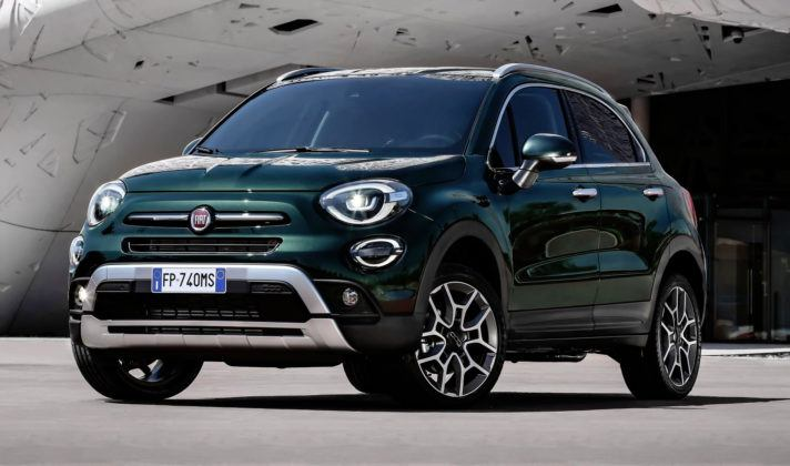 Nowy Fiat 500X - przód