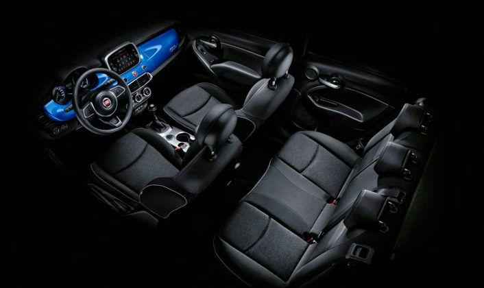 Nowy Fiat 500X - wnętrze