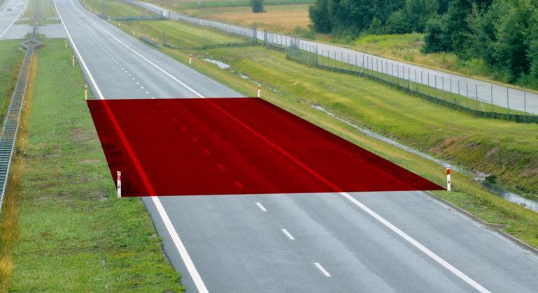 Odstęp na autostradzie