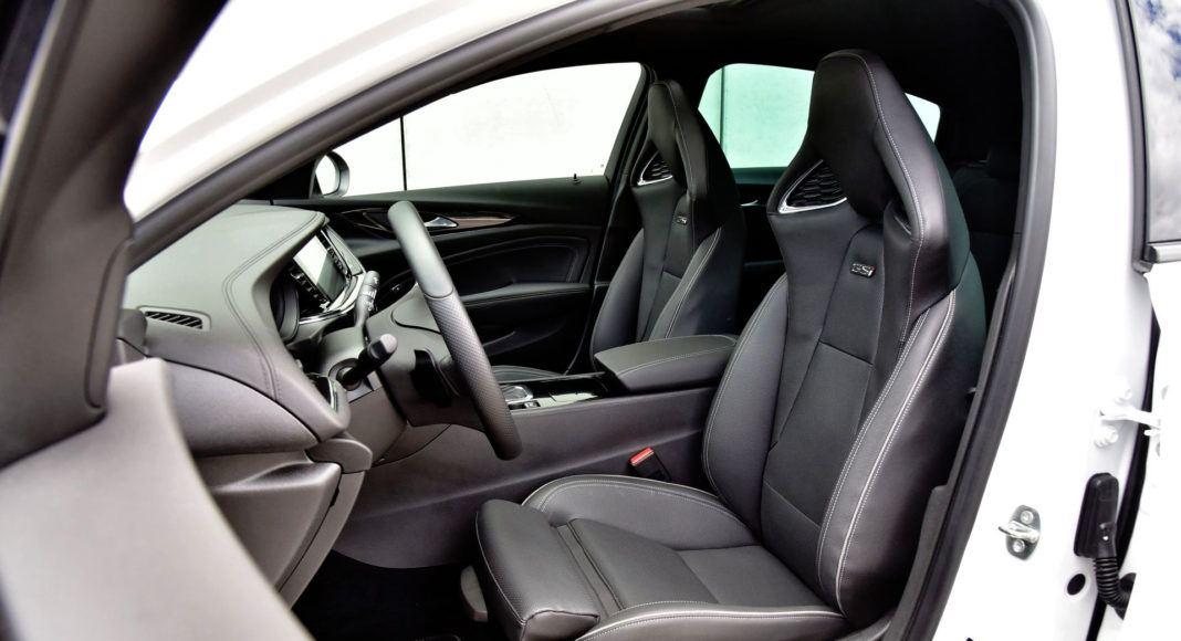 Opel Insignia GSi - fotel kierowcy
