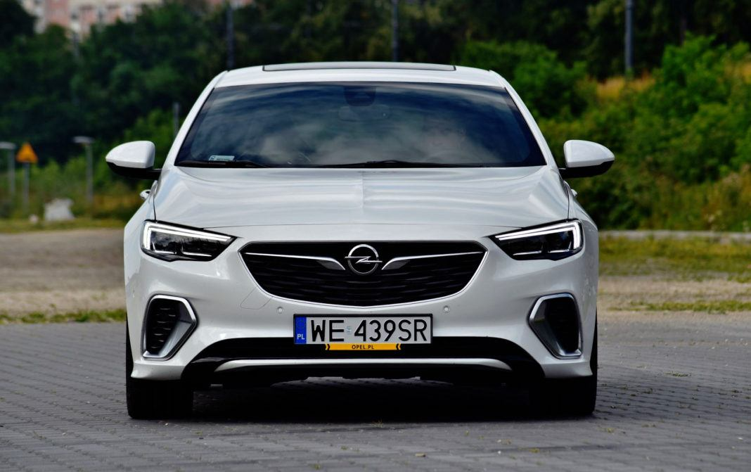 Opel Insignia GSi - przód