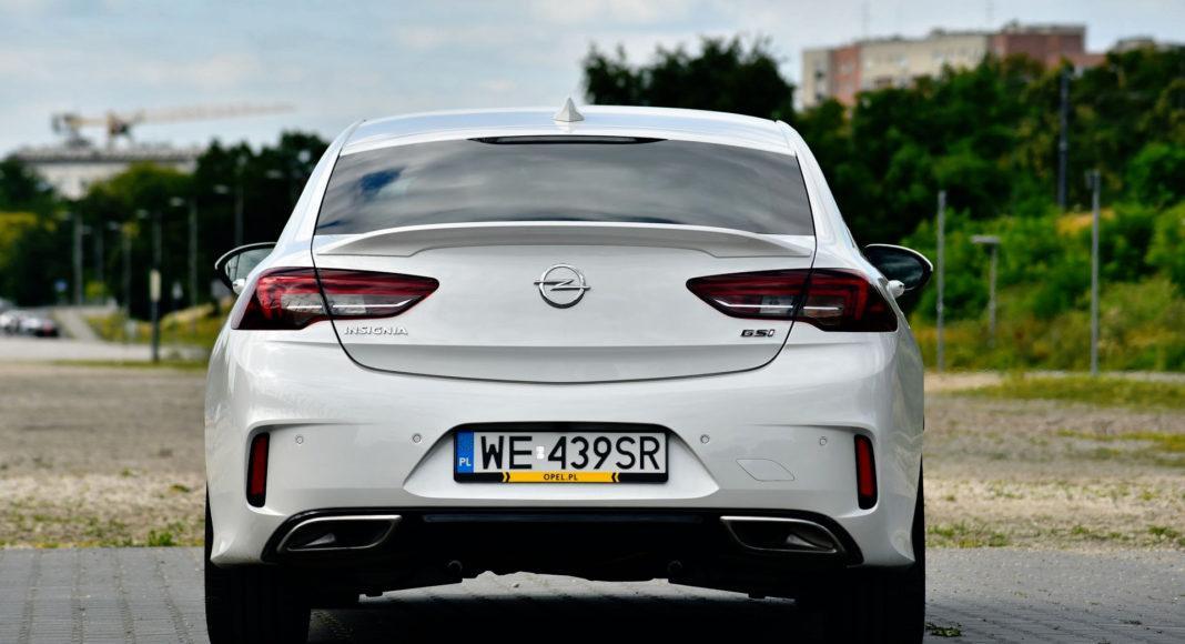 Opel Insignia GSi - tył