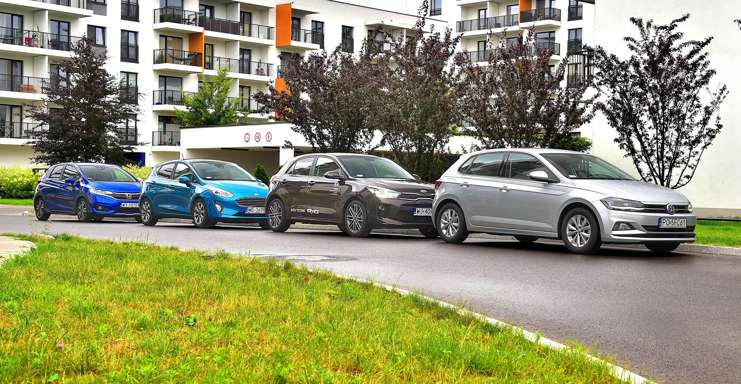 Nowy Vw Polo Kontra Ford Fiesta Honda Jazz I Kia Rio
