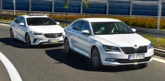 Porównanie Opel Insignia GSi Skoda Superb 2.0 TSI - otwierające