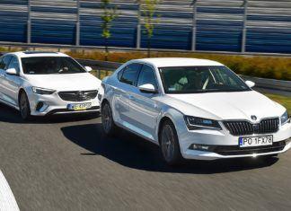 Opel Insignia 2.0 GSi, Skoda Superb 2.0 TSI L&K - PORÓWNANIE